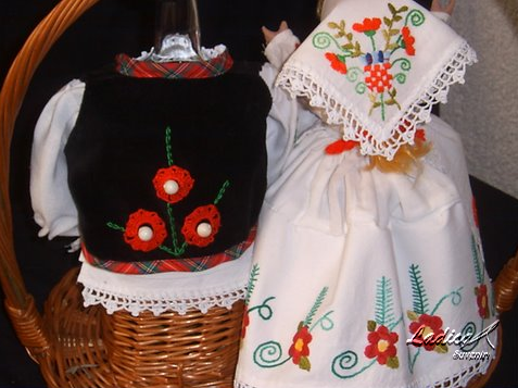 Croatian souvenir, Croatian national costumes